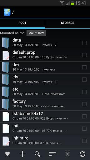 Root Explorer (File Manager) v3.1 для Android