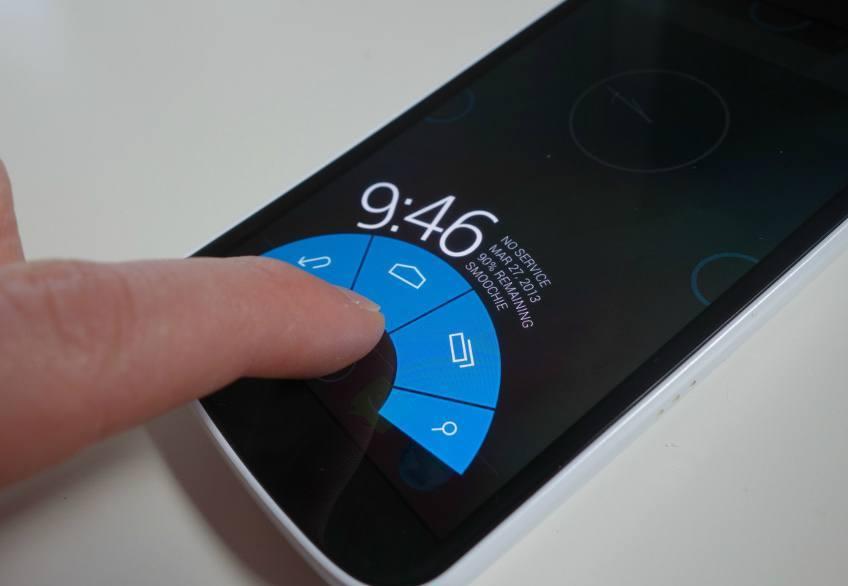 Como esconder os botões na tela