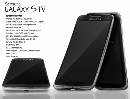 Samsung Galaxy S4 Metallic