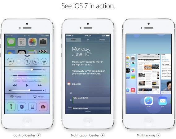 iOS 7 на WWDC 2013