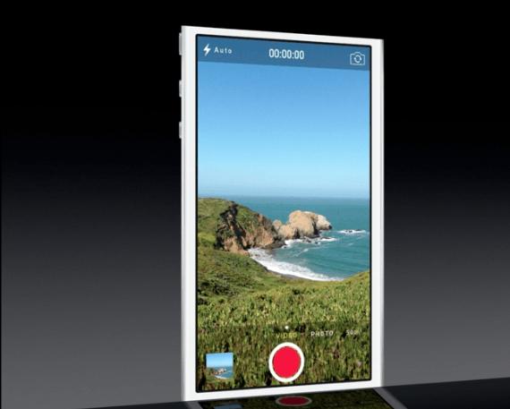 Камера в iOS 7 на WWDC 2013