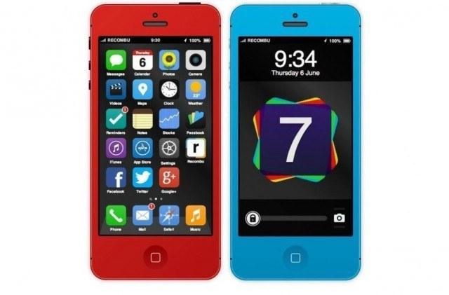 Интерактивный концепт iPhone 5S и iOS 7