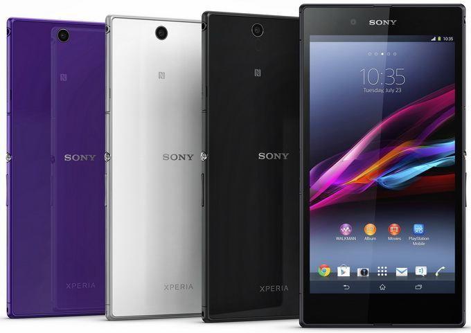 Огромный 6,4-дюймовый планшетофон Sony Xperia Z Ultra