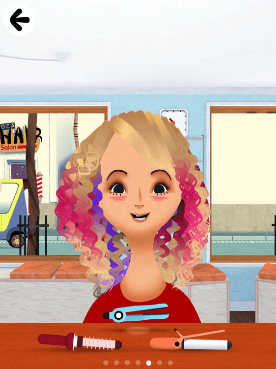 Screenshots for Toca Hair Salon 2