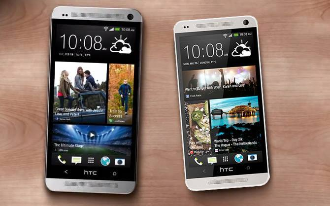 HTC One and HTC One Max