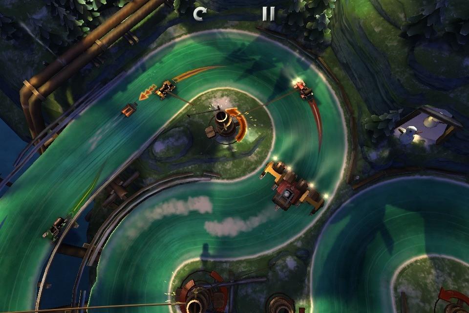 Скачать бесплатно Slingshot Racing для Андроид