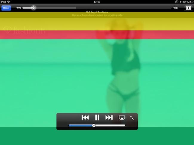 Как перематывать видео в iOS
