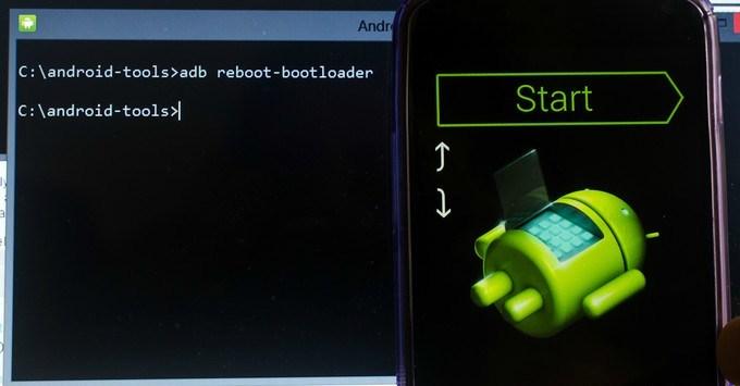 adb reboot-bootloader