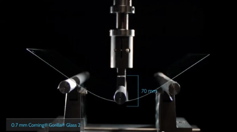 Corning Gorilla Glass testing