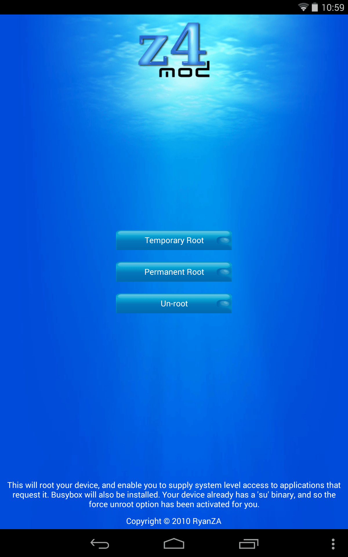 Z4root на андроид 4.4.2