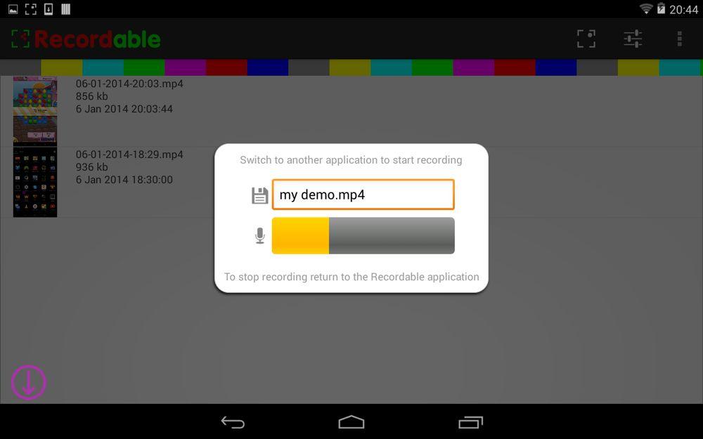 Съемка экрана на андроид