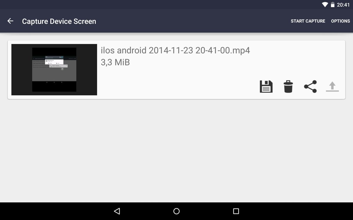 android 5 screencast