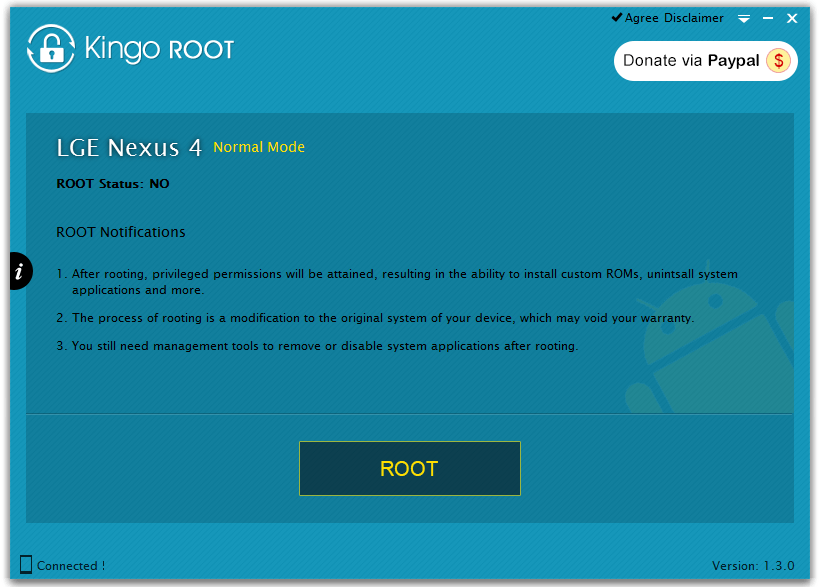 kingo android root программа на windows