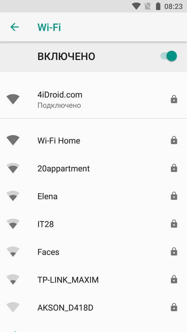 wifi enabled android