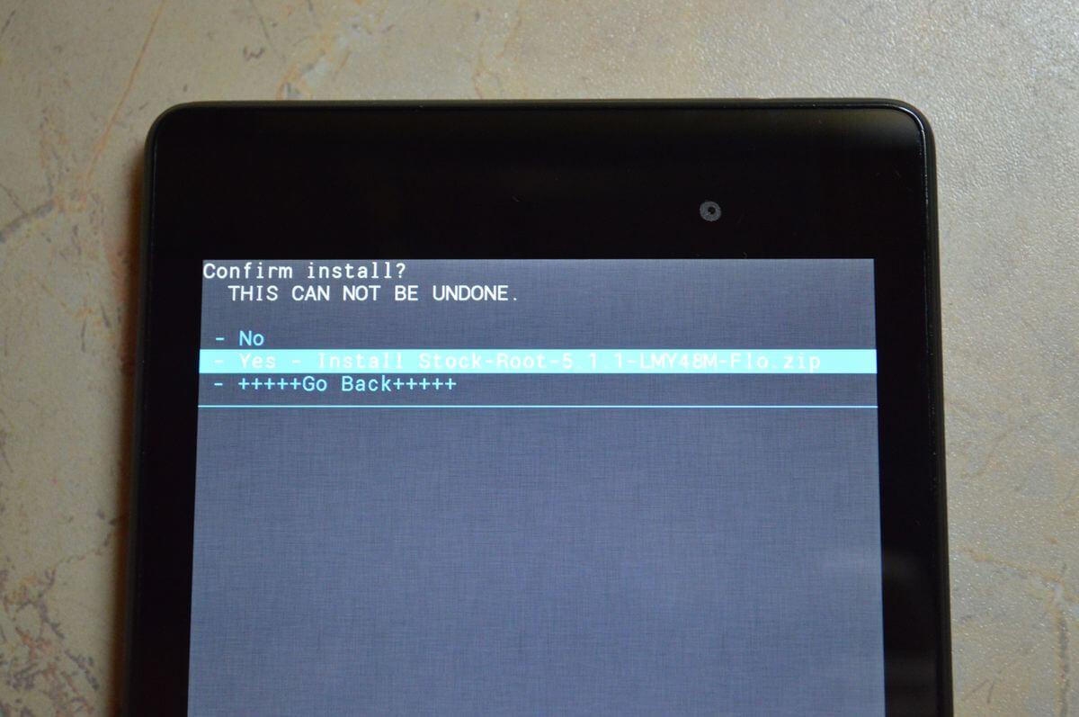 install update.zip