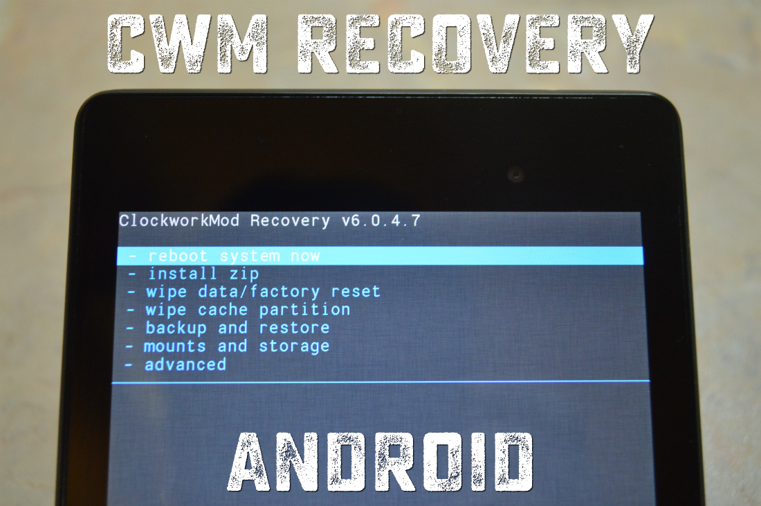cwm recovery android