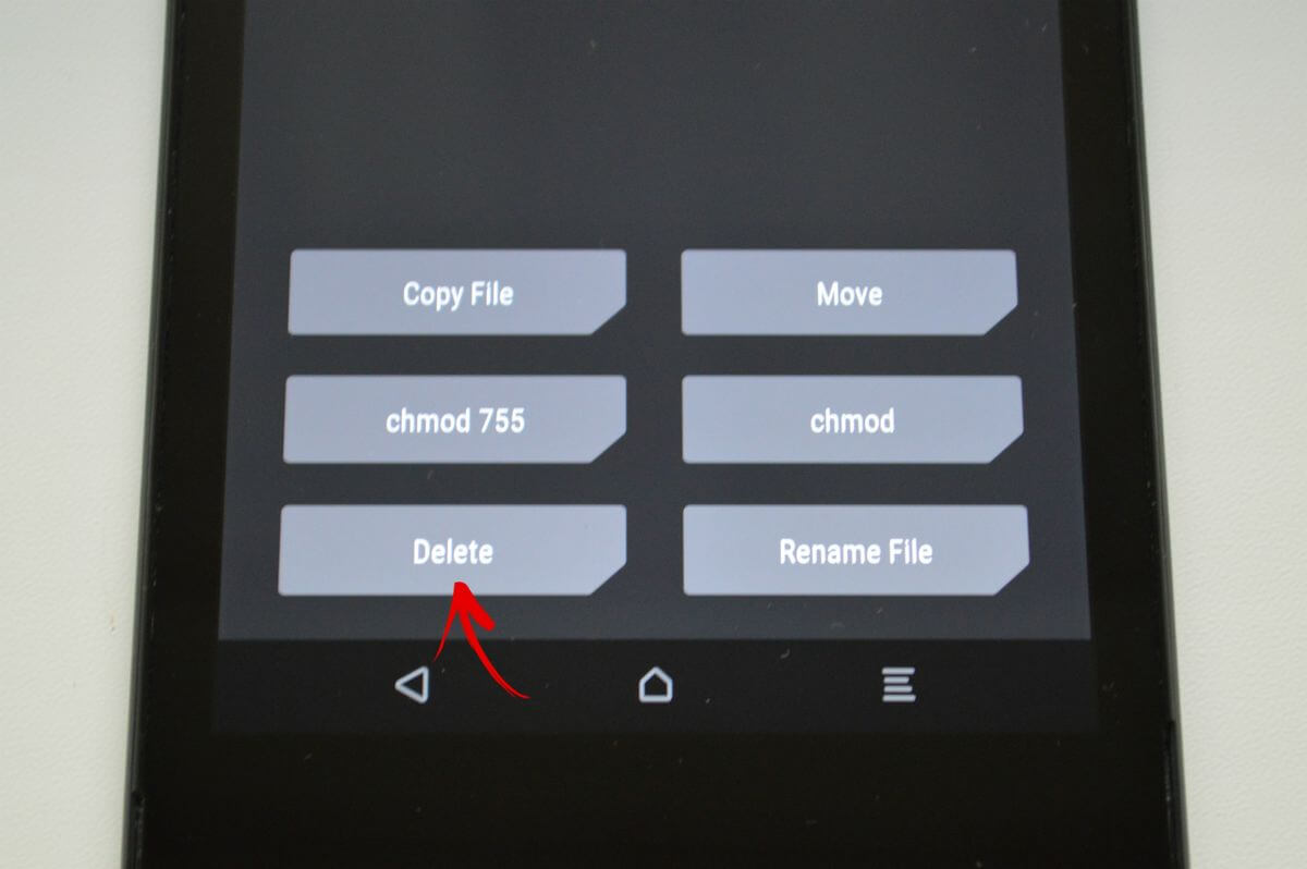 delete locksettings in twrp file manager