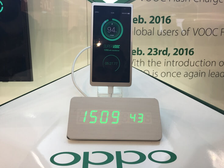 VOOC Flash Charge