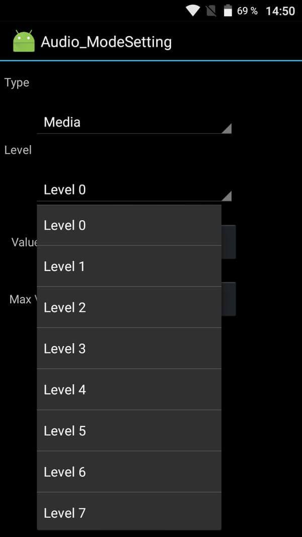 повысить громкость на android в инженерном меню
