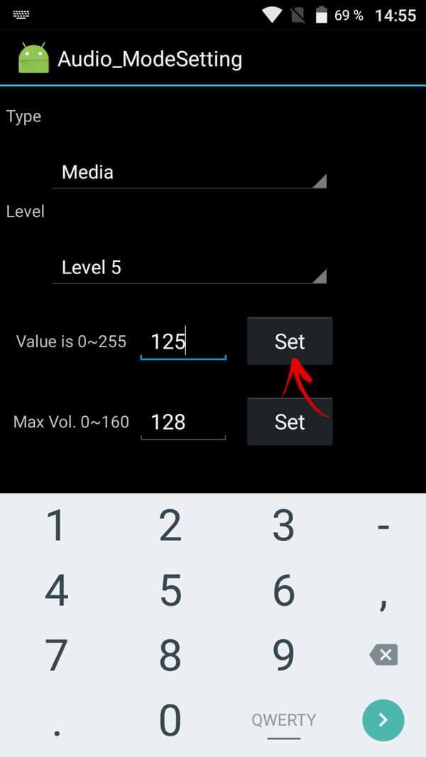 увеличить громкость на android в инженерном меню на mtk