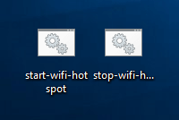 start and stop wifi hotspot files