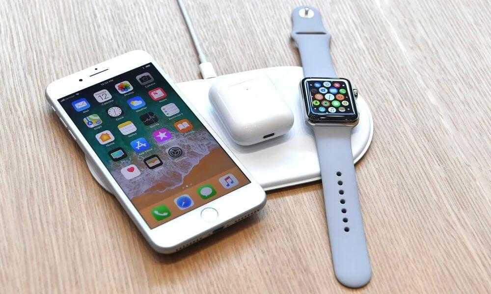 зарядка гаджетов apple