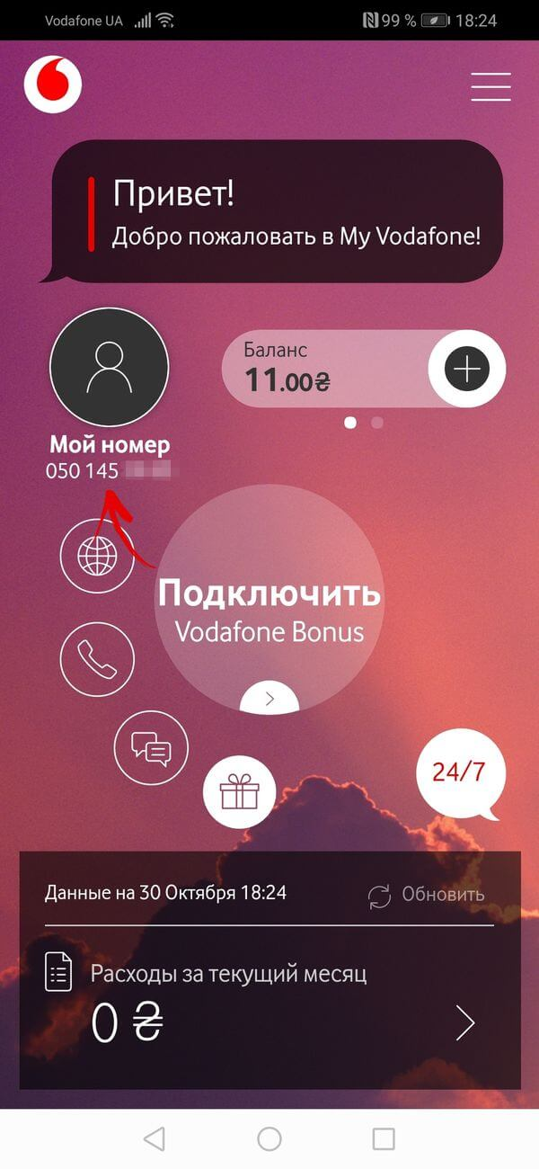 программа my vodafone