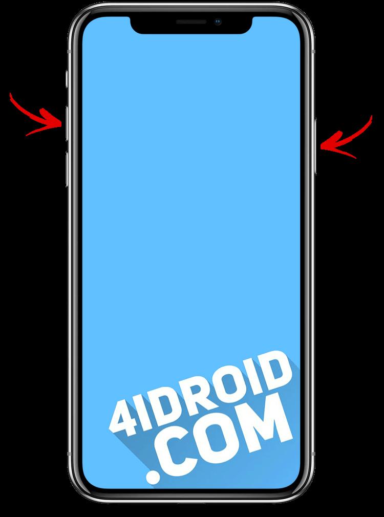 как сделать скрин на iphone 11, 11 pro, xs, xr и x