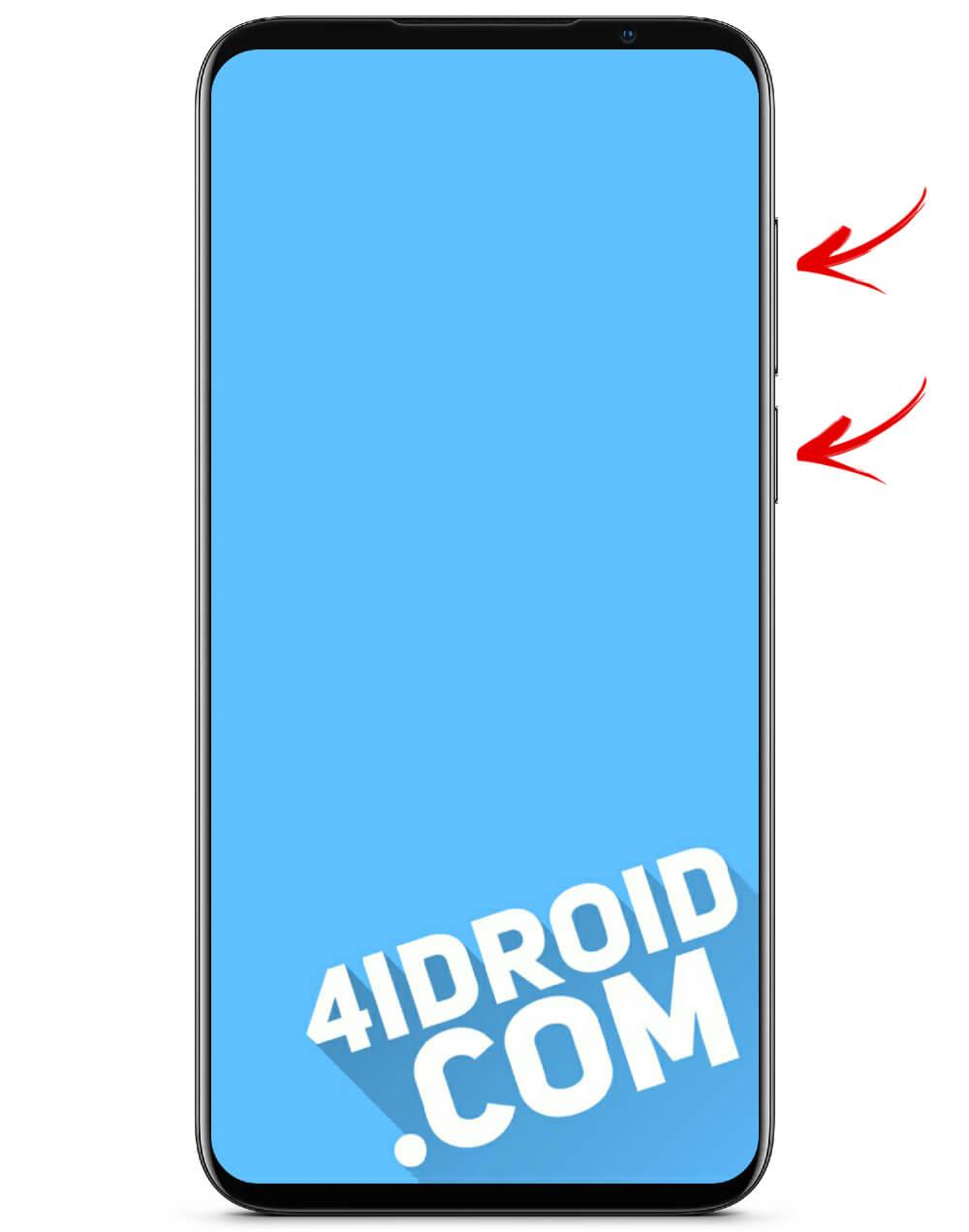 переход в рекавери с помощью кнопок на смартфоне meizu